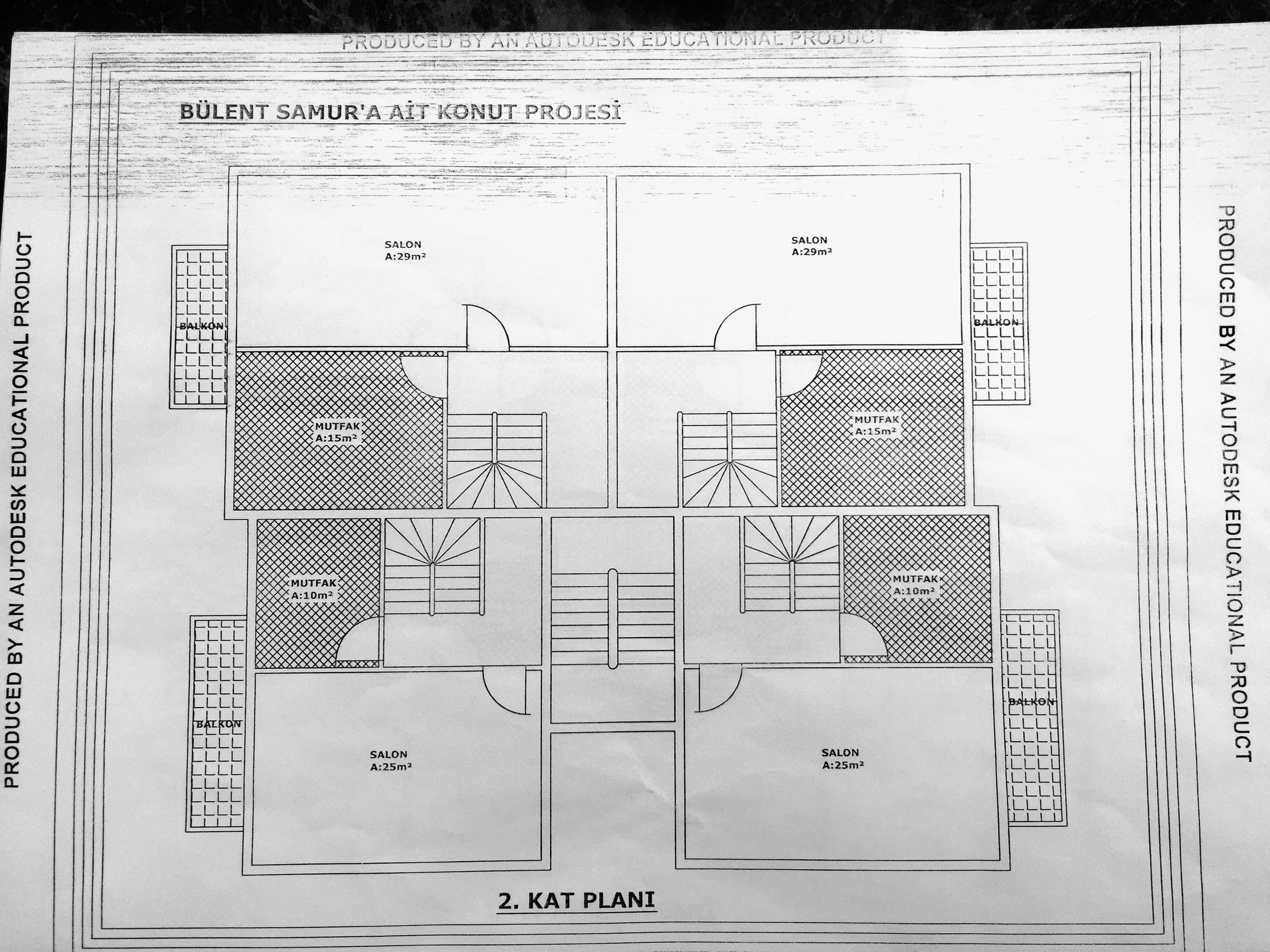 2. Kat Planı